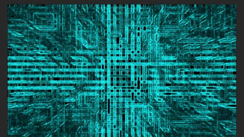 ps滤镜制作电路背景图