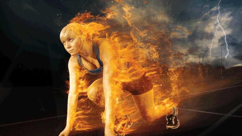 ps用火焰滤镜给照片添加火焰特效