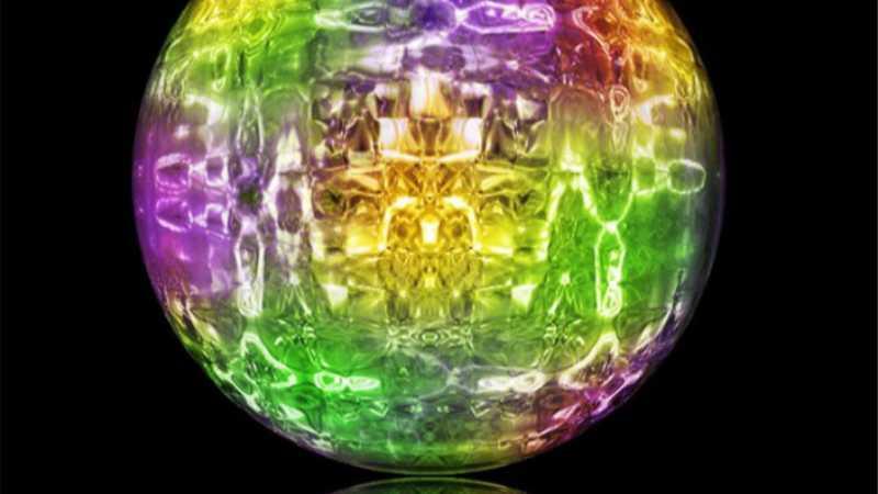 用PS的滤镜制作漂亮的彩色琉璃球