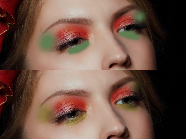 ps彩妆眼影怎么做(6)