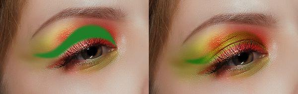 ps彩妆眼影怎么做(13)