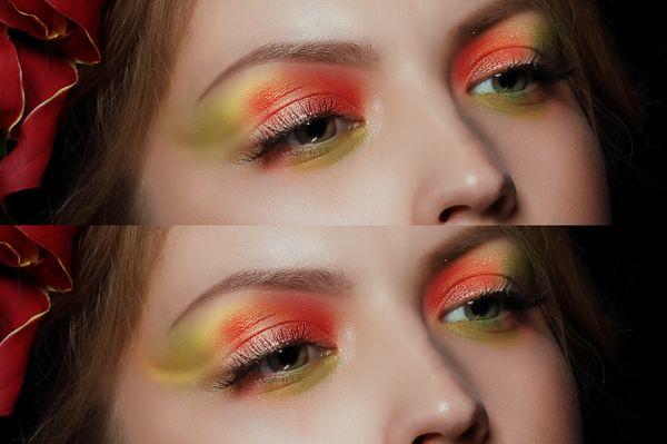 ps彩妆眼影怎么做(10)