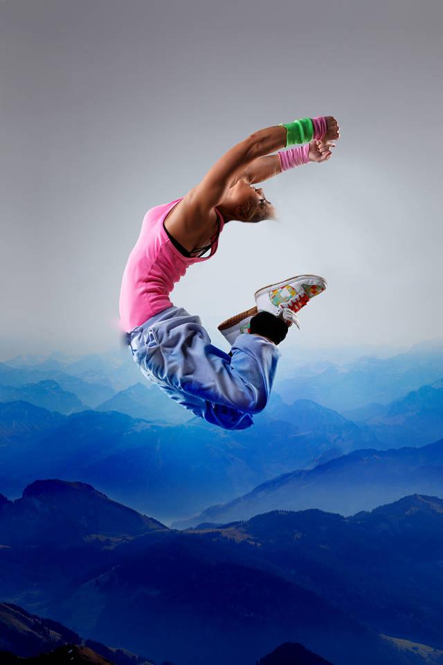 ps多张图片合成一张舞者图片(9)