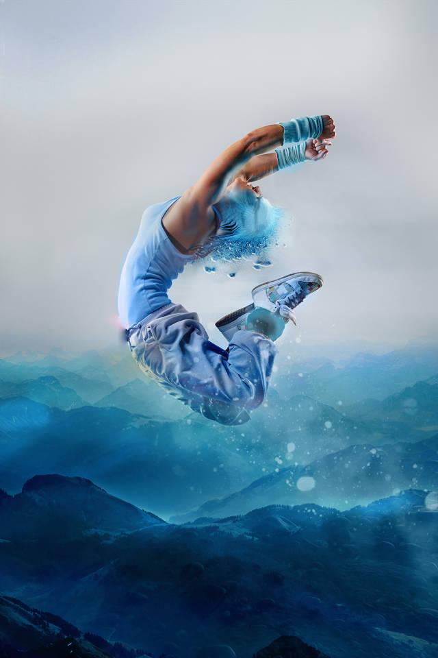 ps多张图片合成一张舞者图片(15)