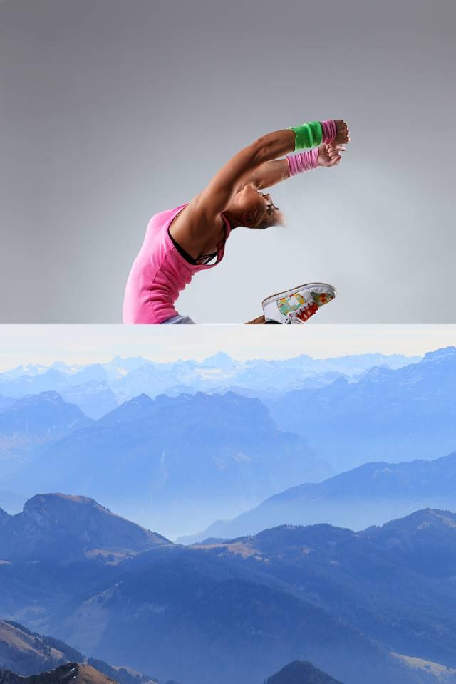 ps多张图片合成一张舞者图片(8)