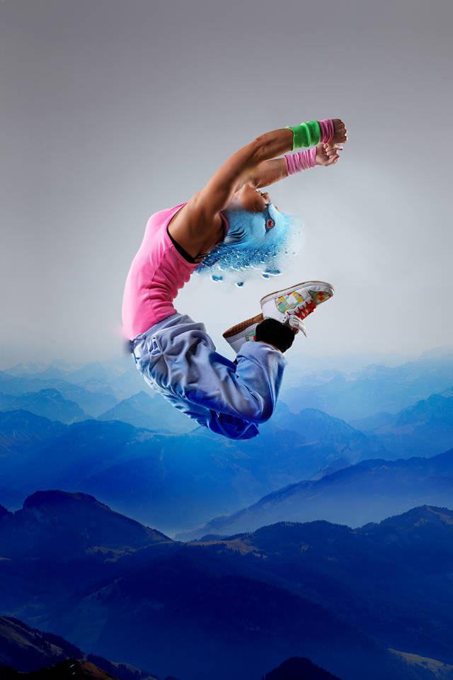 ps多张图片合成一张舞者图片(11)