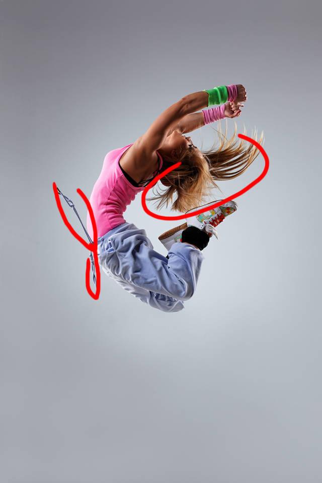 ps多张图片合成一张舞者图片(6)