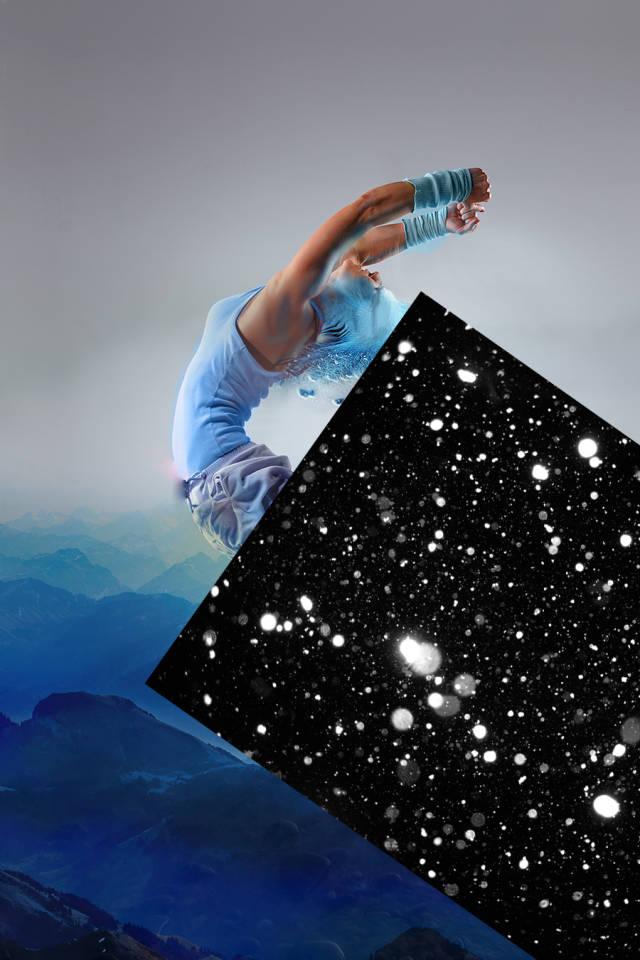 ps多张图片合成一张舞者图片(14)