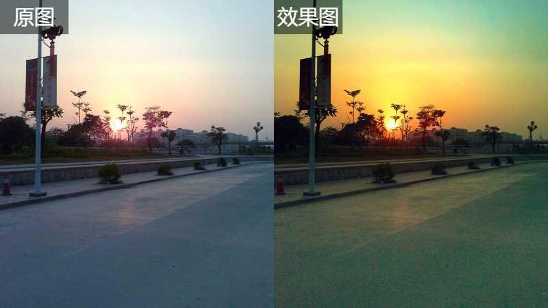 Photoshop修复夏日傍晚外景照片教程