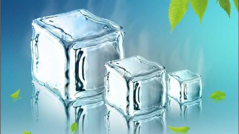 PS滤镜打造逼真冰块效果