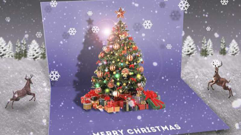 ps设计圣诞贺卡教程