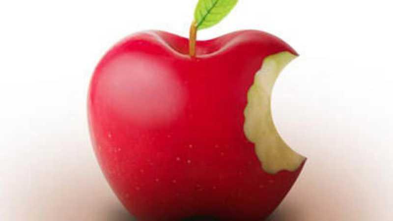 PS简单制作真实的苹果标志