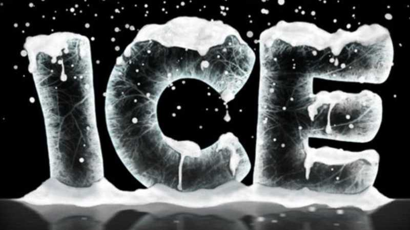 Photoshop设计超酷的冰雪字效果