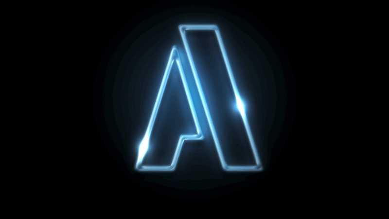 PS制作光点移动的霓虹灯文字GIF动画效果
