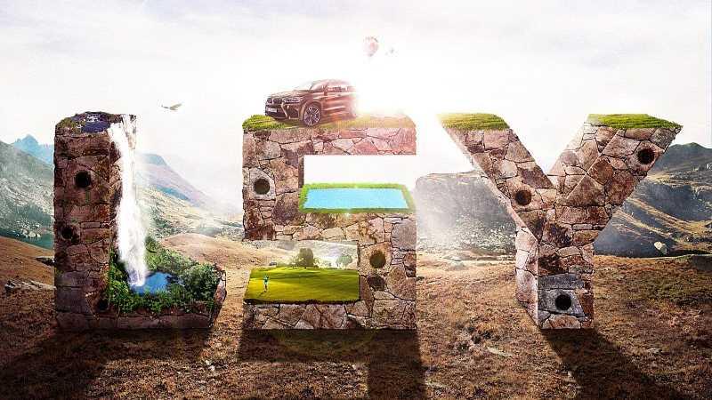 Photoshop制作3D立体字质感的岩石字