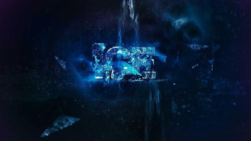 Photoshop制作超酷的冬季冰冻艺术字