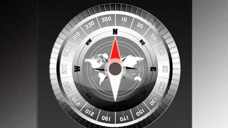 PS鼠绘指南针教程