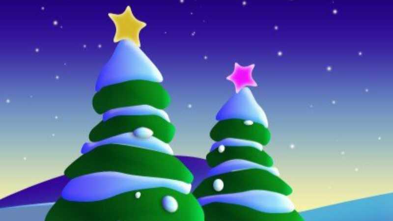用ps怎么制作精美漂亮的圣诞树