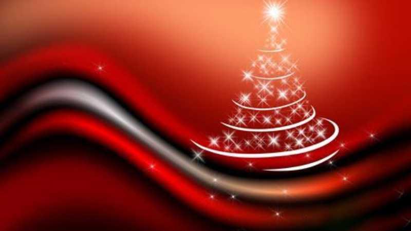 photoshop制作星光闪烁圣诞树浪漫背景