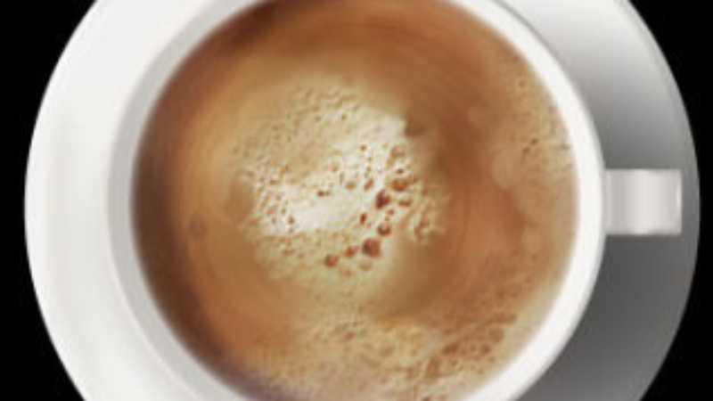 PS鼠绘逼真咖啡泡沫