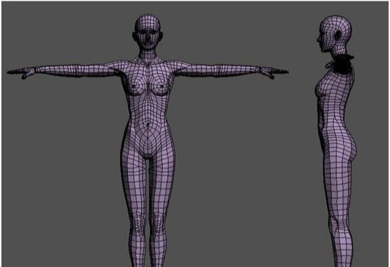 3DSMAX和ZBRUSH打造神秘少女(1)