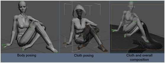 3DSMAX和ZBRUSH打造神秘少女(3)