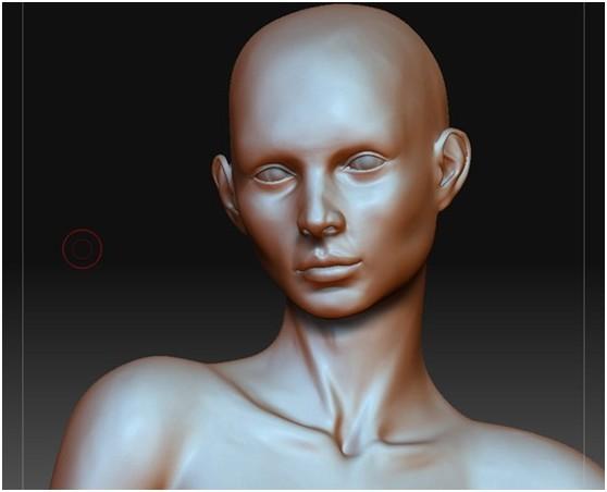 3DSMAX和ZBRUSH打造神秘少女(6)