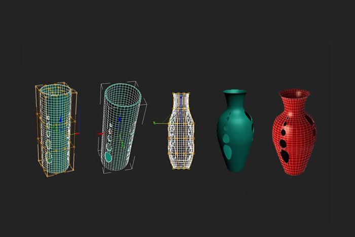 3DSMAX打造镂空花瓶