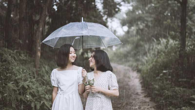ps怎么做下雨效果
