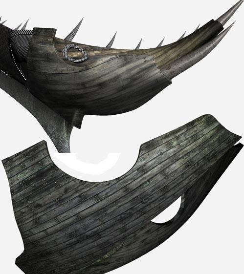 3DSMAX制作迎风破浪船舰场景(14)