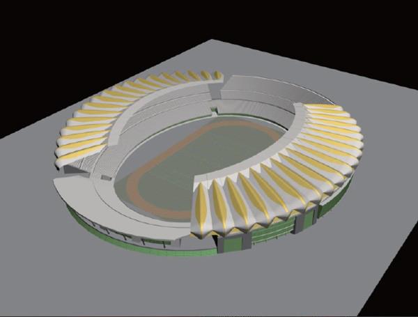 待改-3ds MaX大型场馆建模教程