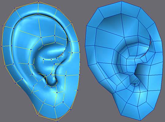 3ds Max耳朵建模教程(10)