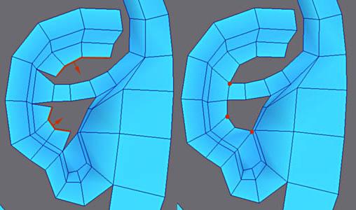 3ds Max耳朵建模教程(6)