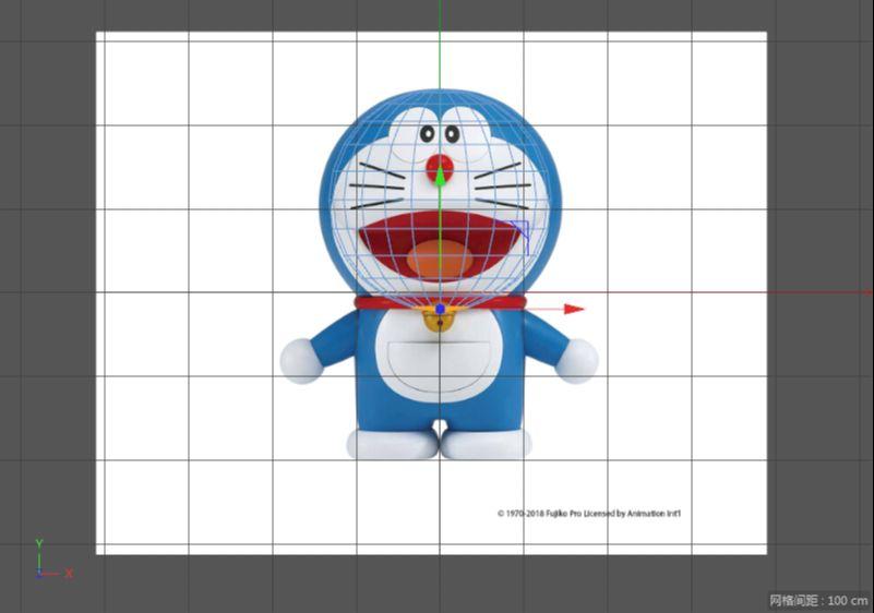 C4D制作机器猫哆啦A梦建模渲染(8)