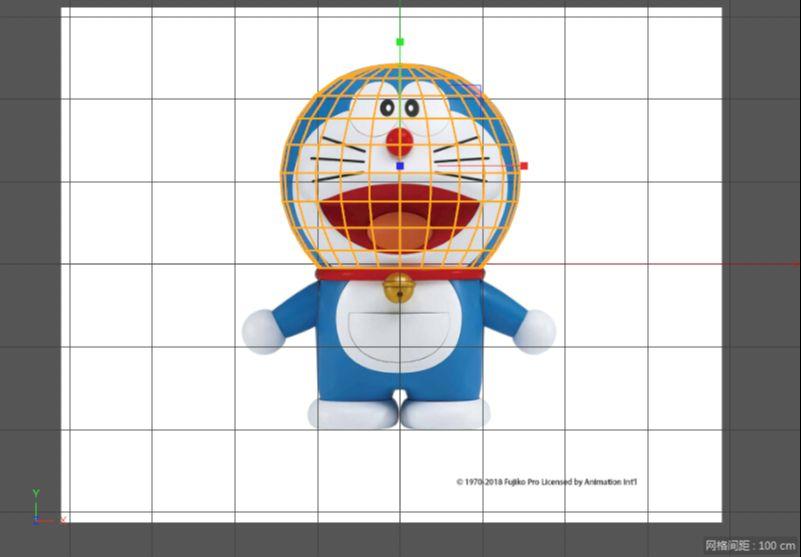 C4D制作机器猫哆啦A梦建模渲染(10)