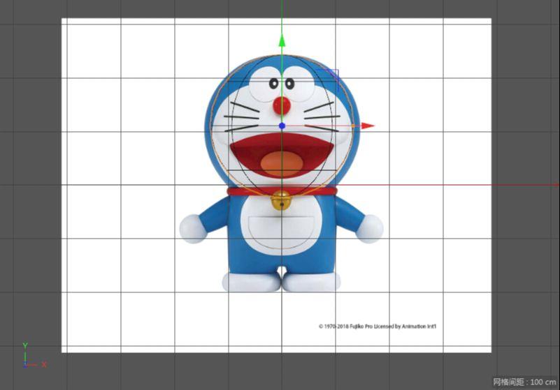 C4D制作机器猫哆啦A梦建模渲染(6)