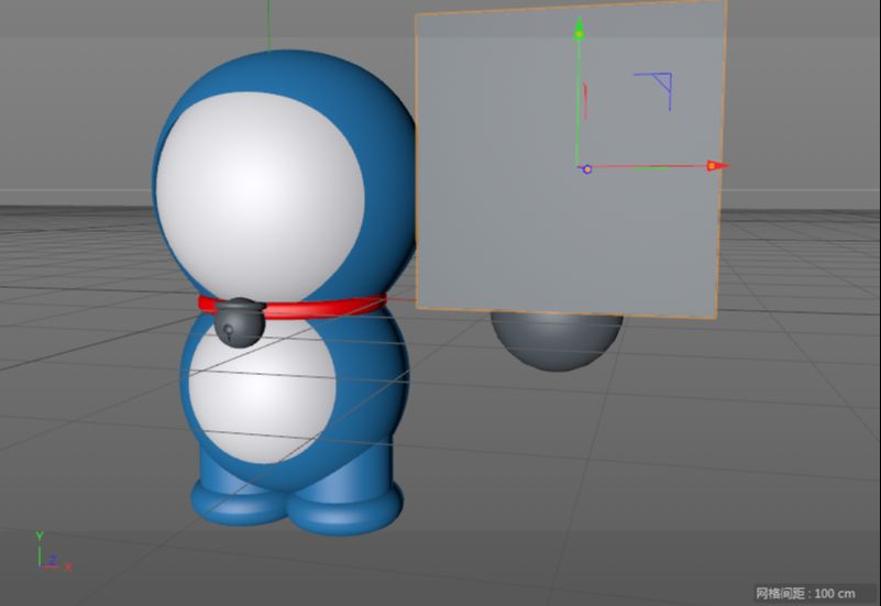 C4D制作机器猫哆啦A梦建模渲染(45)