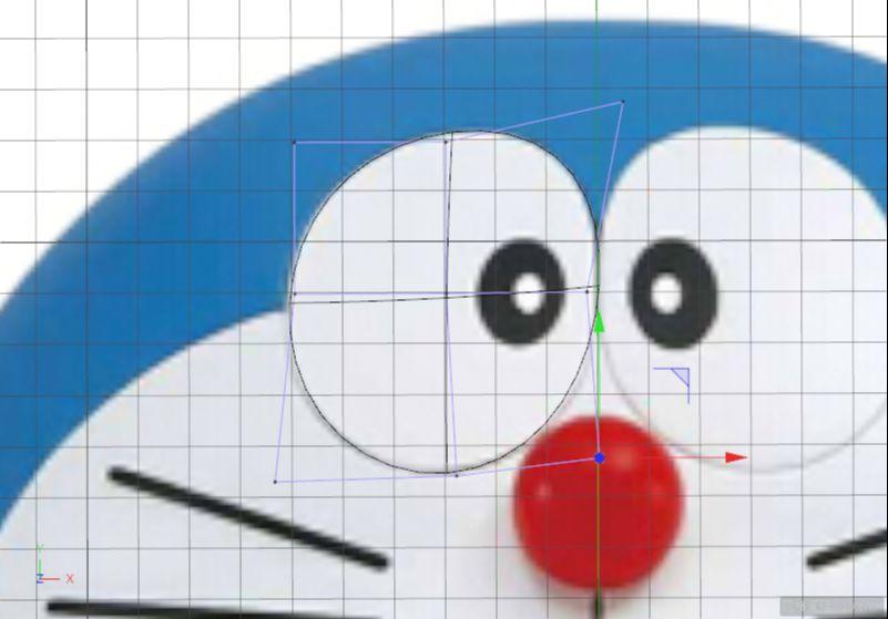 C4D制作机器猫哆啦A梦建模渲染(59)