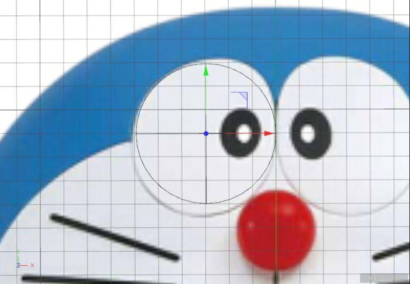 C4D制作机器猫哆啦A梦建模渲染(57)