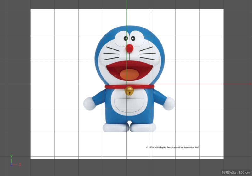 C4D制作机器猫哆啦A梦建模渲染(2)