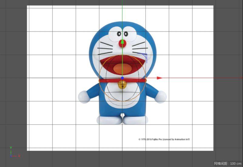 C4D制作机器猫哆啦A梦建模渲染(5)