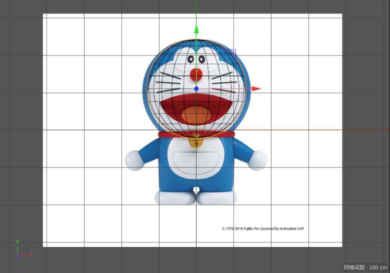 C4D制作机器猫哆啦A梦建模渲染(7)
