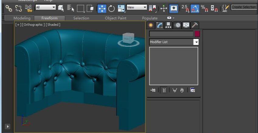 3DSMAX制作欧式沙发(50)