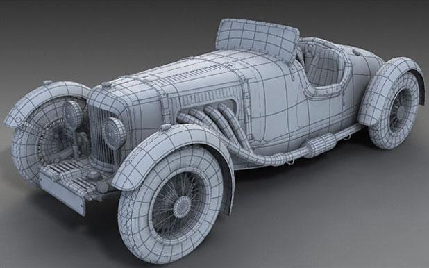 3DS MAX汽车建模教程(7)