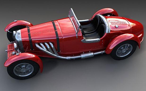 3DS MAX汽车建模教程(14)