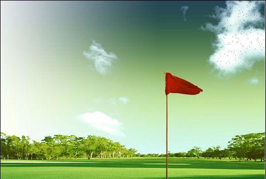 Photoshop制作高尔夫邀请赛宣传海报(11)