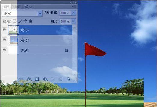 Photoshop制作高尔夫邀请赛宣传海报(1)