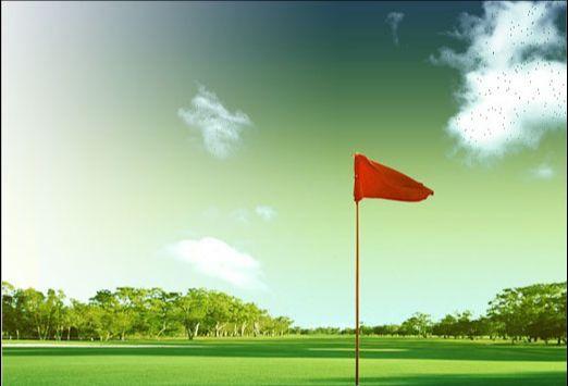 Photoshop制作高尔夫邀请赛宣传海报(16)