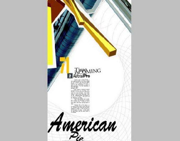 Photoshop制作American Pie海报(21)