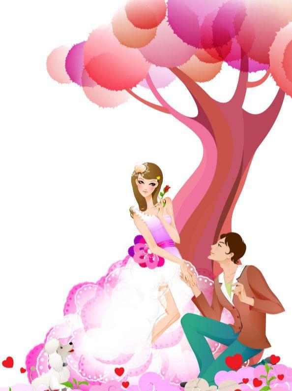 AI绘制誓约树下的爱情插画教程(12)